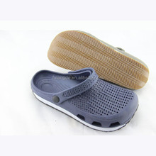 latest design mens rubber garden shoes,causal men beach non-slip eva clogs