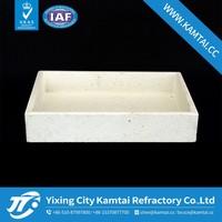 2014Kam Tai high temperature square ceramic crucible for furnace