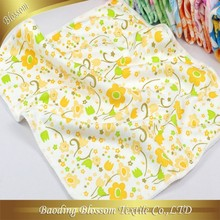 Cheap wholesale microfiber 100% polyester printing disposable hand towel