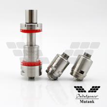 2015 best vaporizer pen wholesale rba coil unicig indulgence mutank rebuildable atomizer sub ohm tank