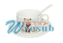Vesub Sublimation white coated Blank Mugs fashion can shape 11oz wholesale mother's day mug gift
