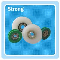 round plastic pulley/nylon roller bearing wheel