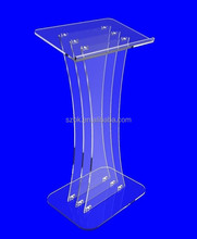 wholesale modern acrylic lectern for church pulpit