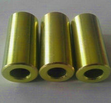 customized steel machining part with zinc plating-yellow in ningbo
