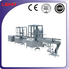 LIENM Factory automatic aerosol machine, valve supplier, filling, sealing, inflating, leak test,