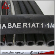 ozone and hydrocarbon resistant hydraulic oil hose 4sp 4sh