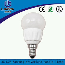 4w low power high efficiency driverless dimmable light led bulbs
