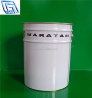 20L coating tin bucket with lid and handle