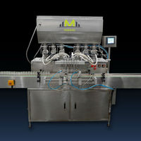 Best price MZH-F 6 Heads full automatic spare parts beverage filling machine