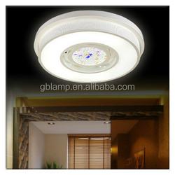 Simple modern ceiling light led, led crystal ceiling light frame