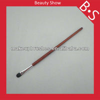 Wooden handle eye make-up brush make up eyeshadow brush, pro make up eyeshadow makeup/cosmetic brush, wholesale price