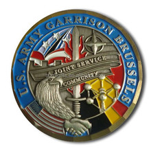 2014 Hot Sale Custom Round Color Filled Challenge Coin