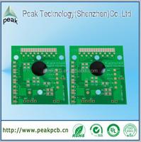 China pcb factory made custom pcb, single side custom pcb with Rosin surface treatment