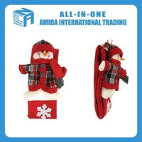 High quality household customized best-selling lovely Christmas snowman small hanging ornament