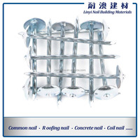 Polished bright iron material common nail for construction factory