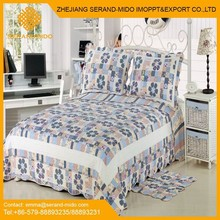 Fashionable 100% cotton printed patchwork quilts sale