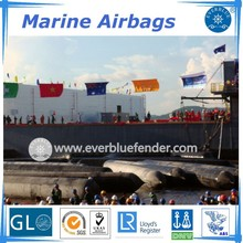 synthetic rubber/ship launching marine airbags/salvage airbags