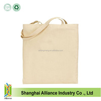 Promotional Custom Standard Size Cotton Canvas Tote Bag Blank
