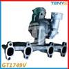 GT1749V Turbocharger 722730-5003S Turbo For VW Skoda Audi 1.9 TDI