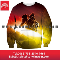Bright colored cropped sublimation print hoodie