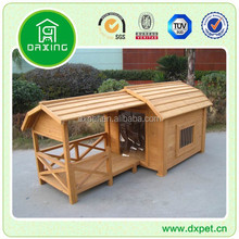 DXDH006 Durable Fir Wood Dog Kennel Designed