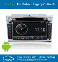 Android Car DVD For Subaru Legacy Outback With GPS Navigation 3G Wifi Radio Bluetooth Ipod HD TV Touch screen Free Map