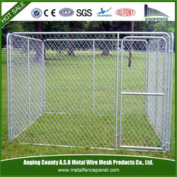 cheap galvanized dog kennel wholesale / dog kennel wholesale / chain link dog kennel