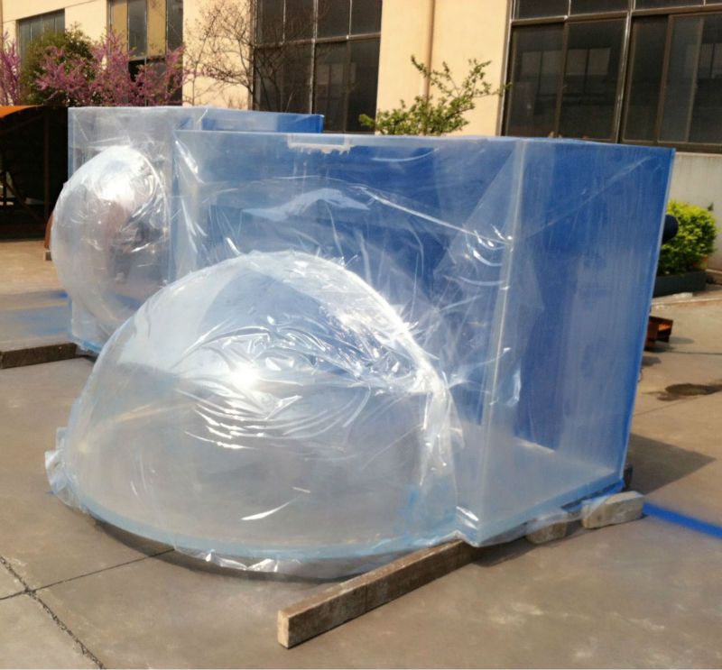 azul tanque de medusas