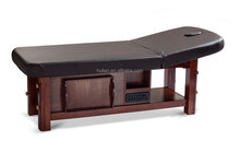 Wood base Electric Massage Beauty Bed / High End Used Electric Massage Table