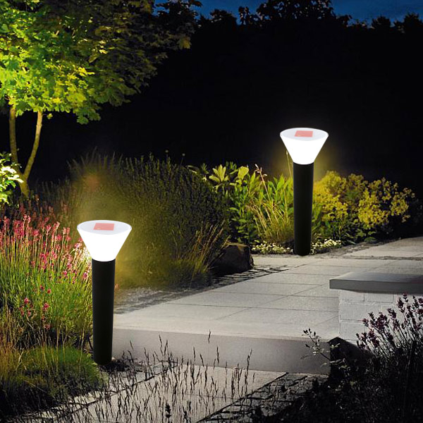 Waterproof 2015 New Products Outdoor Lighting Fixtures Led Solar Garden Fence Light Made In