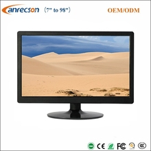 Plastic case TFT LCD VGA CCTV monitor 1920*1080 FHD 21.5 inch LED security HDMI CCTV LCD monitor
