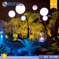 Good Quality Cheap LED Lighted Inflatable Helium Balloon For Advertising Promotion