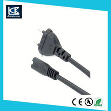 AC power cord 6ft vde power cord euro 2pin power plug to iec c7(figure 8) for laptop power supply