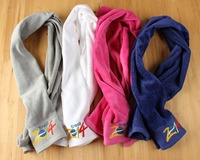 100% cotton embrodiery logo gym sport towel