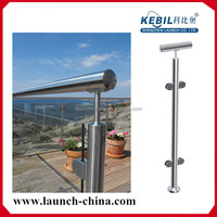 ISO 9001:2008 900-1500mm high handrails for outdoor steps