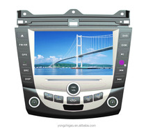 8 inch cheap double din touch screen car stereo GPS for Honda Accord 2007