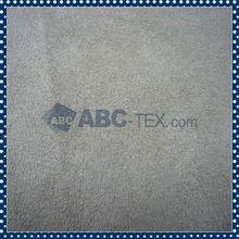 Alta Resistencia del color de Negro Suede Tela de tapicería