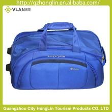 rolling travel duffel bag with trolley