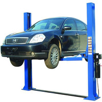 Qingdao launch car lift 2 post auto car lift/ small home elevator/bare lifts
