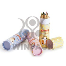 eco-friendly recyclable pen package paper tube