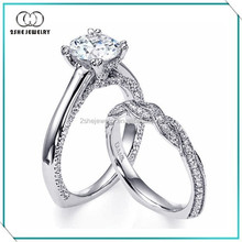Hot Sale Fashion 925 Silver family rings set