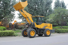 wheel loader quick attach/multifunction mini wheel loader with snow blower,road sweeper,pallet fork/front end wheel loader ZL30F
