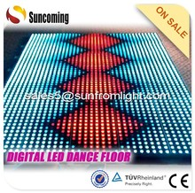 The latest disco patterns from digital LED dance portable floor