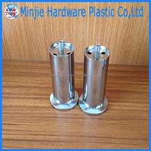 hot sale manufacturer electroplate metal chrome legs for furniture