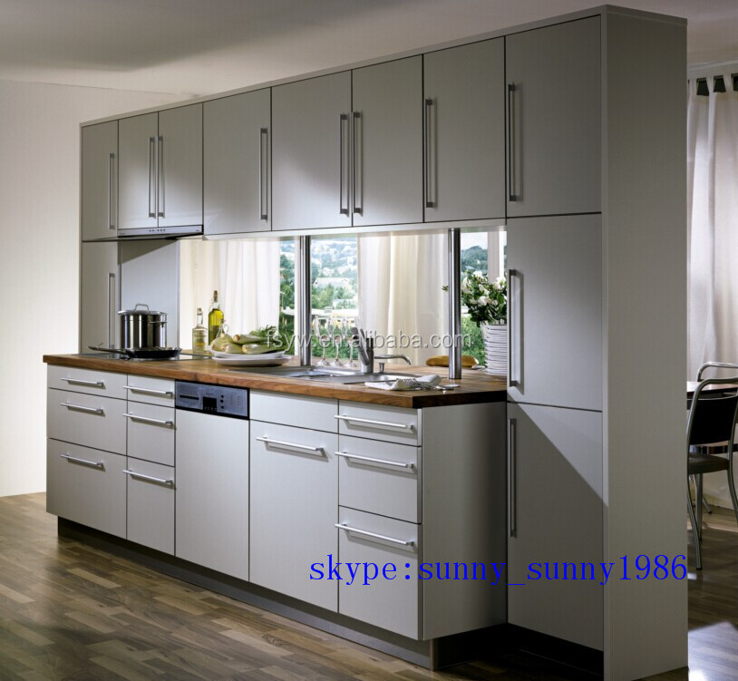 wholesale high gloss integreted lacqure kitchen cabinets