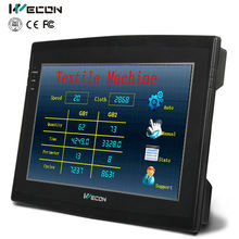 "Wecon 10.2"" hmi/hmi touch screen CAN BUS interface and modbus protocols support"