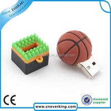 mini basketball shape usb stick 64 gb for promotion gift