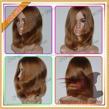 100%Pure European Hair Jewish Kosher Human Hair Wigs for sales