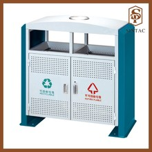 White iron coating environmental classification outdoor waste bin
