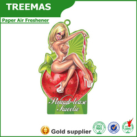 New products promotion paper air freshener of hair treatment china supplier